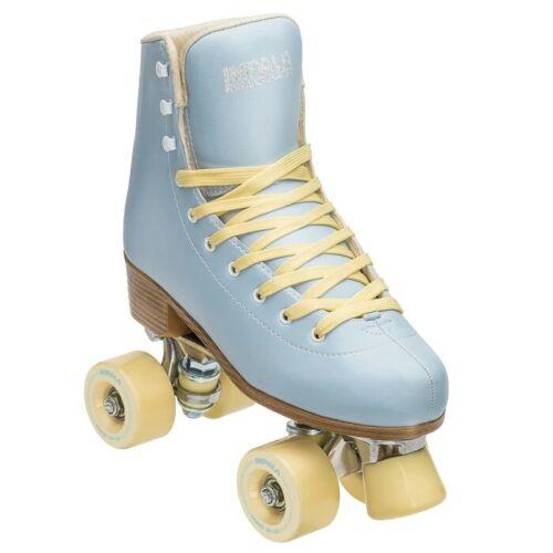 Impala - Quad Roller Skates | Vegan - Womens | Sky Blue / Yellow - Size: 6