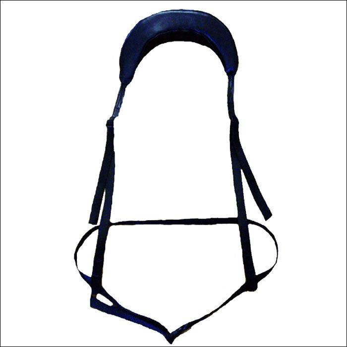 Saddle Barn Pro Rodeo Cordura Protective Neck Roll Black U-0-85