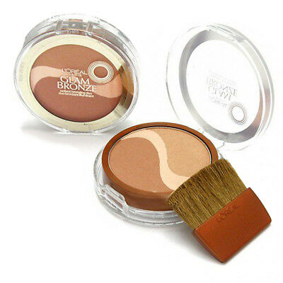 BUY 1 GET 1 AT 10% OFF Loreal Glam Bronze Bronzing Powder/ Radiant Bronzing Duo Bronze 1 Bronzing Powder
