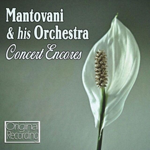 CD MANTOVANI CONCERT ENCORES CLAIR DE LUNE CAN CAN ZIGEUNERWEISEN SONG OF INDIA