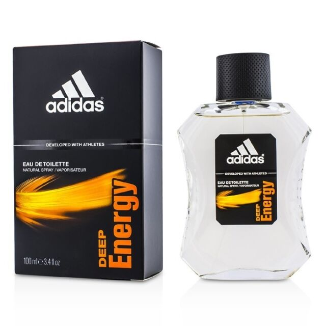 Adidas Deep Energy EDT Spray 100ml Men's Perfume