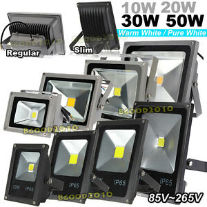 10w 20w 30w 50w led smd exterior focos l mpara de pared for Focos led exterior 50w