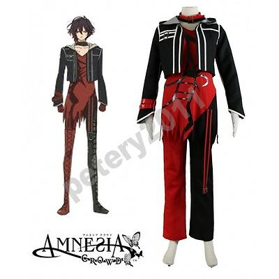 Custom-made Amnesia Shin Cosplay Costume Hallowen Clothes Halloween Cos - Hallowen Custom