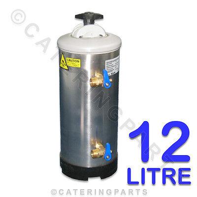 LT12 DVA 12 litre 12lt GLASS OR DISH WASHER SALT TYPE WATER SOFTENER INC RESIN
