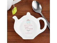 Personalised One In A Million Teabag Rest (NEW) (MOTHER'S DAY)