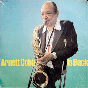 ARNETT-COBB-QUARTET-Arnett-Cobb-Is-Back-US-Press-Progressive-7037-1980-LP