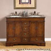 Double Bathroom Vanity Cabinet