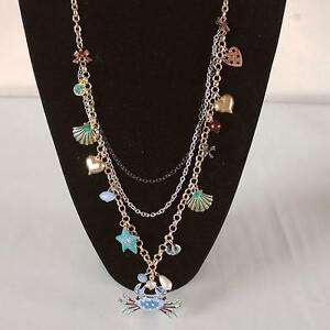 BRAND NEW Betsey Johnson Layered Necklace + Parrot Earrings Kitchener / Waterloo Kitchener Area image 6