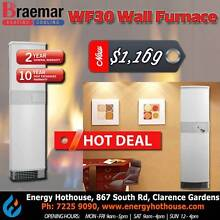 Braemar WF30N Ecostar Wall Furnace 30MJ Clarence Gardens Mitcham Area Preview