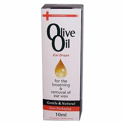 Georges Medical Olive Oil Ear Drops 10ml