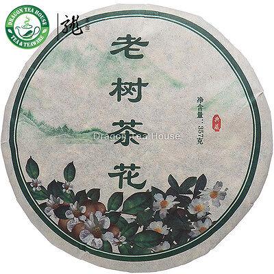 Torta * Yunnan tè del fiore di Puer Vecchio Albero Cha Hua 2013 grezzo di 357g