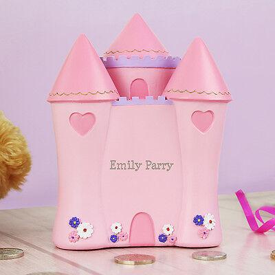 Princess Castle Money Box Piggy Bank - £19.98