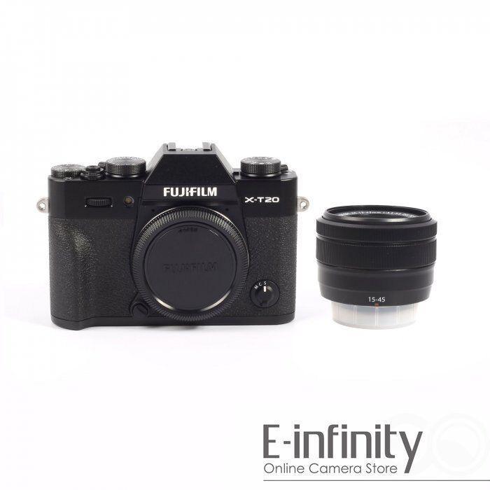 Fujifilm X Series X-T20 Mirrorless Camera with XC16-50mmF3.5-5.6 OIS II Lens Silver 16542880