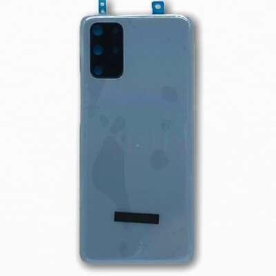 Tapa Trasera Original para Samsung Galaxy S20+ G986 Azul con Lente de...