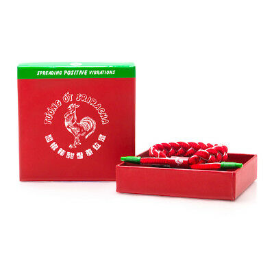 Brand New RASTACLAT Sriracha Red Shoelace Bracelet