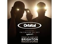 Orbital/ faithless ticket