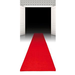 Hollywood-Läufer Roter Teppich, 450 x 60 cm - Dekoration - Deko -