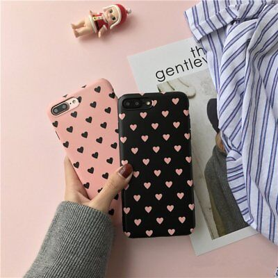 Soft Rubber TPU Silicone Matte Phone Back Case Cover For iPhone X 7 7 Plus 8 6s
