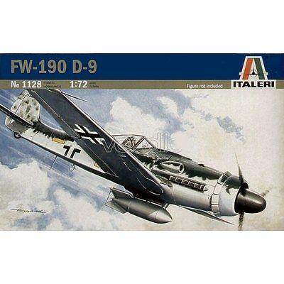 Italeri 1128 Focke Wulf Fw190 D9 1/72 plastic scale model kit