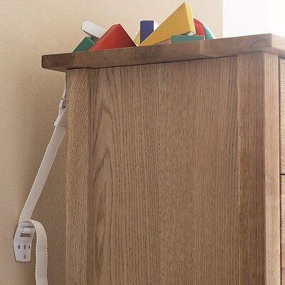 BabyDan Anti-Tip Furniture Child Safety Strap Pack of 2