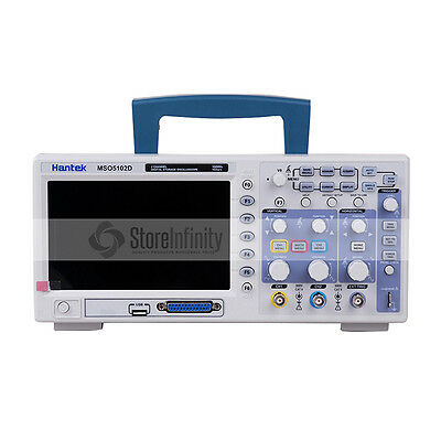 HANTEK MSO5102D 100MHz 2 Channel 1GSa/s Oscilloscope 16Ch Logic Analyzer 2in1