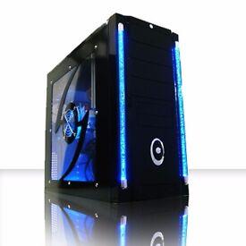 PROFESSIONALLY REFURBISHED GAMING PC 8GB RAM 1TB HDD AMD6300 6 CORE NVIDIA GeForce GT630 6 MTH WRNTY