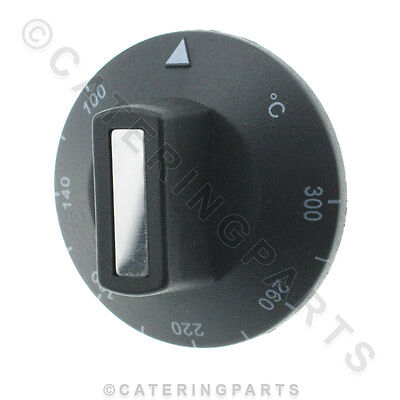 N129 BUFFALO THERMOSTAT TEMPERATURE CONTROL KNOB 100-300 FOR GRIDDLE/OVEN/GRILL