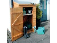 Rowlinson Mini Store. Outdoor Storage. Ready Built. New. Ex-Display.
