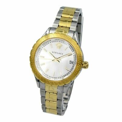 VERSACE V12030015 HELLENYIUM LADIES TWO/TONE WATCH