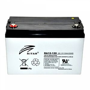 AGM Deep Cycle Batteries 120Ah x 2 Cannonvale Whitsundays Area Preview