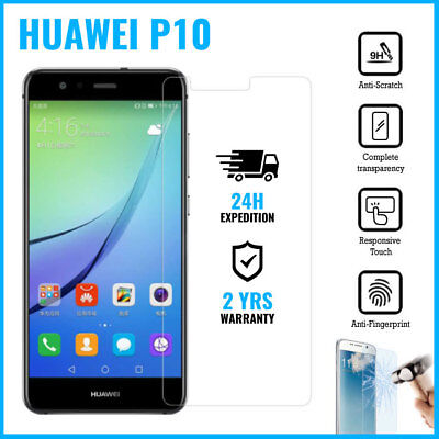 Screen Protector 9H LCD Protecteur Real Tempered Glass Film For Huawei P10