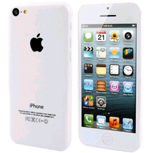 LIKE NEW IPHONE 5C 16GB ALL WHITE W/BELL NO SCRATCH