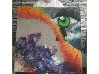 Acrylic painting on canvas 90cm x90cm