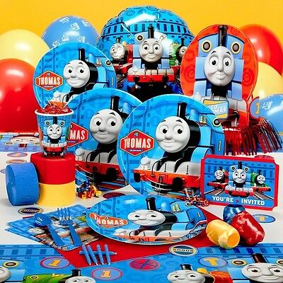 Thomas & Friends Train Decorations Party Supplies Tableware Kids Birthday r2-3d