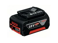 Bosch Professional 18v Lithium Ion Battery 4Ah Li-Ion With LED Power Gauge.