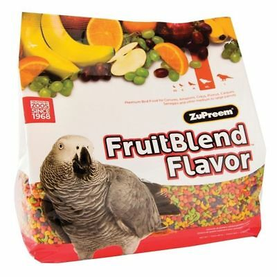 ZuPreem Avian Fruitblend Premium Bird Food for Medium & Large Parrots 3.5lbs