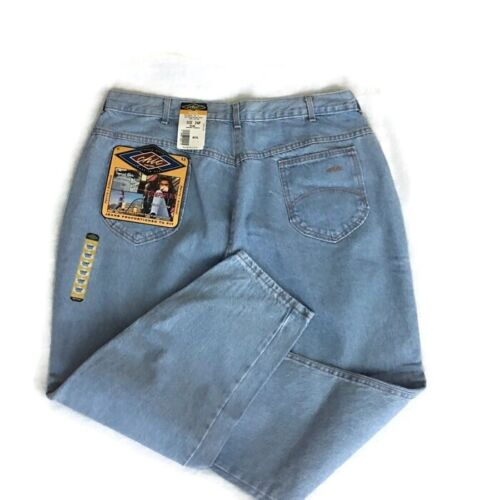 NWT Vintage Chic Women's Blue Tapered Jeans Plus Size 24W