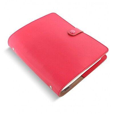 Filofax Original Organizer A5 Coral Leather - Made In The Uk  Ay-022599