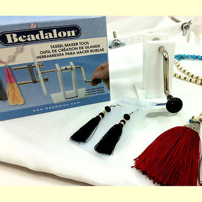 TASSEL MAKER Tool by Beadalon Fun! For DIY JEWELRY! (216S-100)