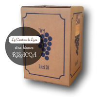Vino Bianco Risacca Bag In Box Lt.20 - Vini Sfusi Sardegna - -  - ebay.it