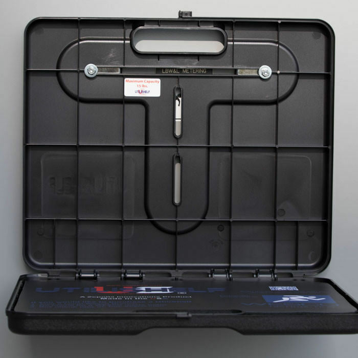 UtiliShelf - Magnetic Portable Utility Shelf, 15lb Capacity