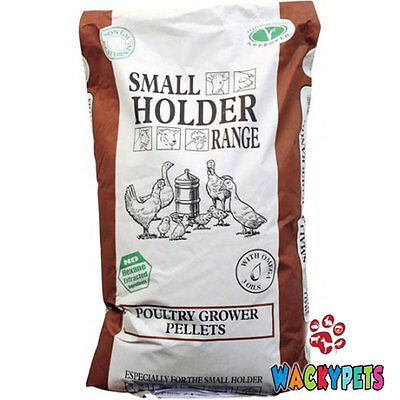 CHICKEN POULTRY GROWER PELLETS 5kg Allen & Page Small Holder Range (AP116)