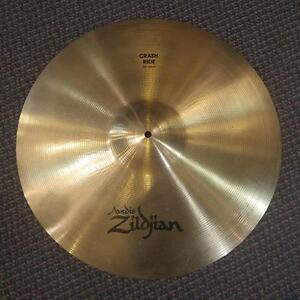 "Zildjian A crash ride 20"" used/usagée"