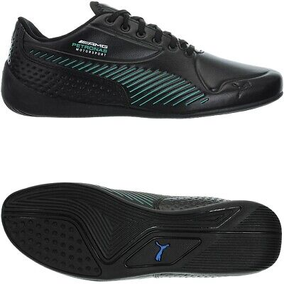 Puma Mercedes AMG Petronas Drift Cat 7S Ultra black men's low-top sneakers NEW
