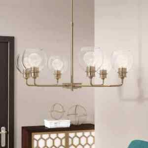 Maria 6-Light Shaded Chandelier
