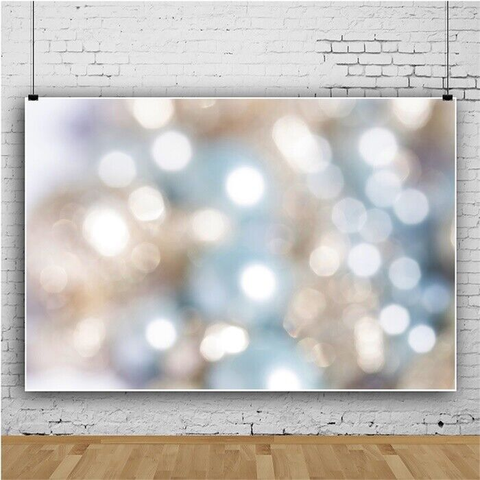 9x6ft Vinyl Defocused Blur Bokeh Photography Background Backdrop Photo Props Art