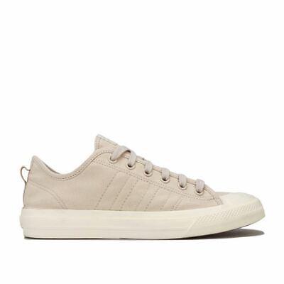 Men's adidas Originals Nizza Rf Canvas Trainers in Cream