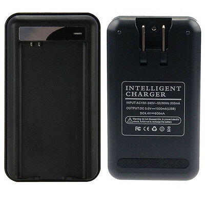 Wall Travel Spare Battery Charger With USB for Samsung Galaxy S5 i9600