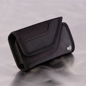 NITE IZE CLIP CASE SIDEWAYS LARGE SMART PHONE CELL PHONE HOLSTER POUCH & CLIP