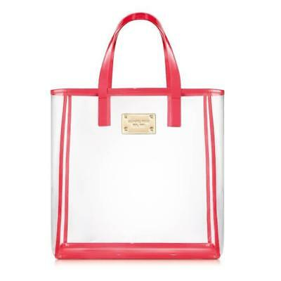 Michael Kors Tote Bag Clear/Red
